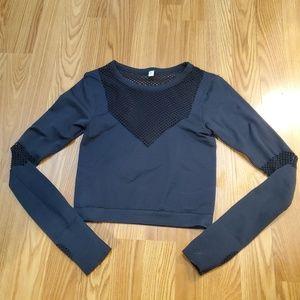 Joy Lab for Target crop long sleeve shirt